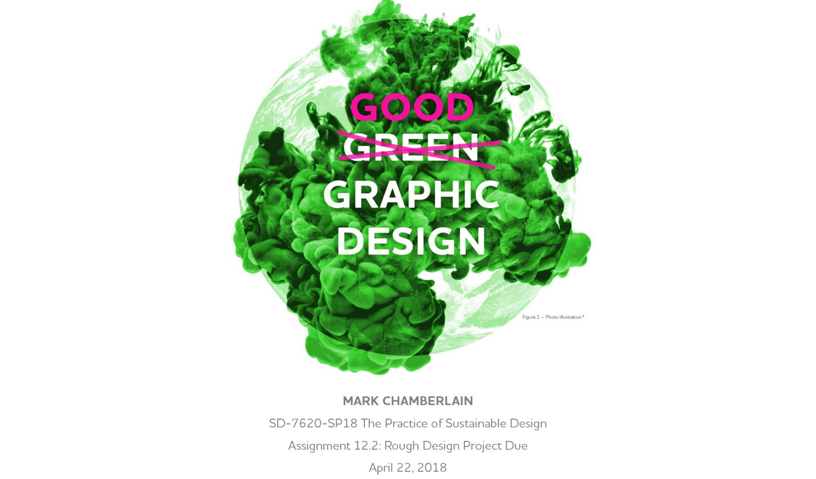 Graphic Design Presentation ; Marty Chamberlain