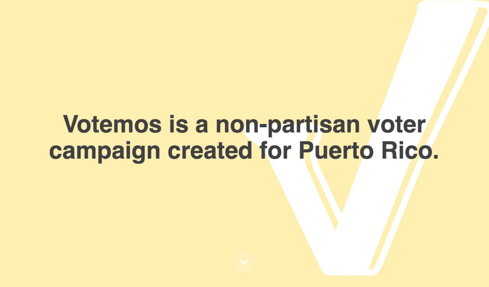 Votemos Presentation ; Monica Nadal